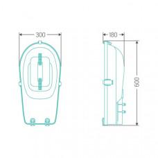 Уличный индукционный светильник ITL-SF004 120 W