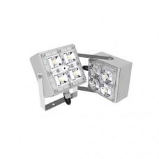Архитектурный прожектор двухлучевой SVT-STR-2MX-18W-25-3000К-DS