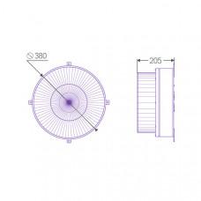 Индукционный светильник ITL-CG002 120W