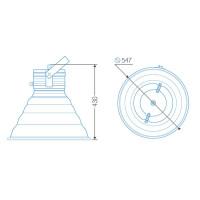 Индукционный светильник ITL-HB004 200 W