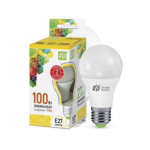 LED-A60-standard 11Вт 160-260В E27